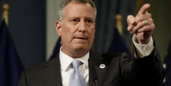 In Epic Troll, Bill DeBlasio Tweets His Tax Returns To Trump