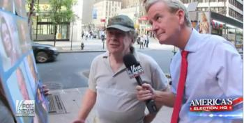 Dooce On The Loose Asks New Yorkers About Democratic Candidates