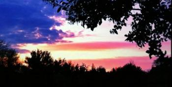 Open Thread - Flag In The Night Sky