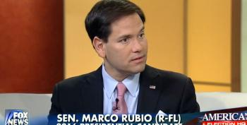 Marco Rubio On Trump Campaign: 'We Already Have A President That Has No Class'