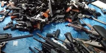 More Than 1200 Guns And Stockpiled Ammunition Found In Dead Man's Home