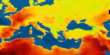 Heatwave Knocks Out Power In France As Europe Swelters