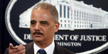 Eric Holder Back To Wall Street-Tied Law Firm After Years Of Refusing To Jail Bankers