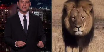 Jimmy Kimmel Chokes Up Discussing 'Ahole Dentist' Who Killed Cecil The Lion
