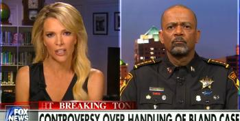 Fox's Wingnut Sheriff Clarke: Bland Was 'Loaded For Bear' From The Time She Was Pulled Over