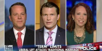 Fox 'News' Claims The Liberal Left Is Attacking Traditional Marriage