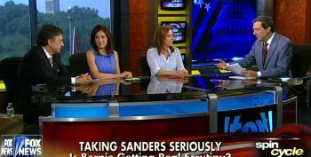 Howie Kurtz Whines That Sanders Is Not Being Scrutinized By Media