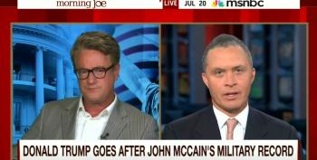 Joe Scarborough's Daily Dose Of 'Both Siderism' On McCain, Trump And Franken