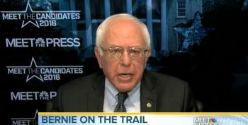 Sanders: Black Lives Matter Protest Not A 'Confrontation'