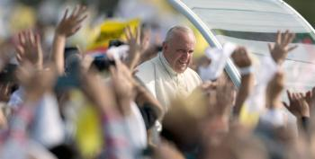 Pope Frank Tells The Young: 'Make A Mess'
