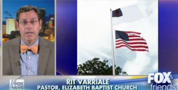 North Carolina Pastor Wants Christian Flag Flown Above Old Glory