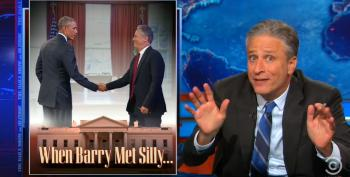 Jon Stewart On White House Visits: 'Something Is Not A Secret Just Because You Don't Know About It'