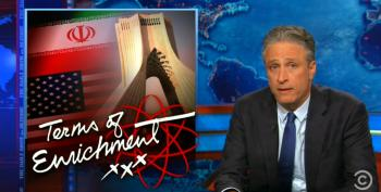 Jon Stewart Skewers Right Wing For Attacking Iranian Nuke Deal Without Reading It