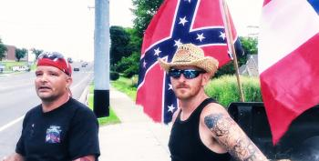 Confused Protesters Waving Confederate Flag At Obama In Tennessee Actually Love Obamacare