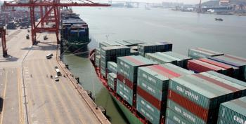 Enormous, Humongous May Trade Deficit Slows Economy