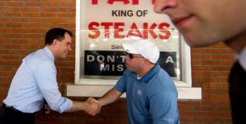 Scott Walker Was In Philly For A Cheesesteak Yesterday