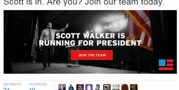 Walker's Campaign Stumbles Before It Even Starts