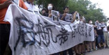 Angry Protesters Demand Answers After China Blast