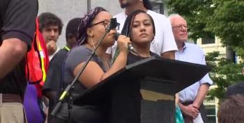 Black Lives Matter Protesters Shut Down Bernie Sanders In Seattle