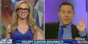 Fox's Greg Gutfeld: 'Hillary Might Not Even Be A Human Being'