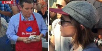 Ellen Page Confronts Ted Cruz On Gay Rights
