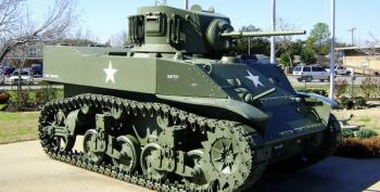 Jelly Belly Exec's Spouse Accidentally Crushes Man While Driving WW II-Era Tank