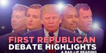Bad Lip Reading: The First Republican Debate