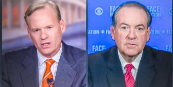 John Dickerson To Mike Huckabee: Has Anyone Ever Won A Debate Using A Nazi Analogy?