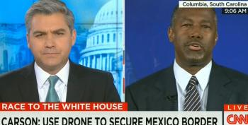 Ben Carson: Use Drone Strikes On Border Caves: 'I'm Not Talking About Killing People.'