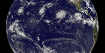 Hey, Climate Deniers! Explain Three Category 4 Hurricanes Near Hawaii