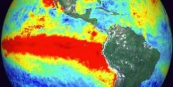 Another El Nino Sign: Ocean Temps Hit Highest Levels Of The Year