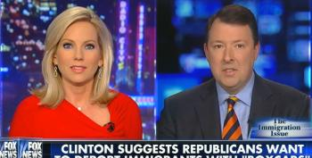 Fox Gets The Vapors Over Hillary Clinton's 'Boxcar,' But Trump's Rhetoric Gets A Pass