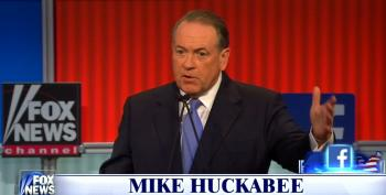 Huckabee: We Can Get Rid Of The IRS If We Pass A 'Fair Tax'