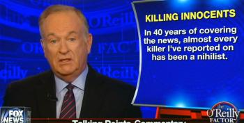 Bill O'Reilly Tries To Tie Gun Deaths To Rise In Nihilism And Decline In Spiritual Belief
