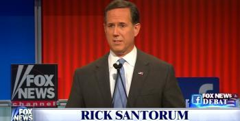 Rick Santorum Says Abortion Is Just Like Slavery