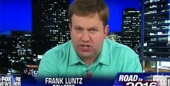 Frank Luntz: 'Legs Are Shaking' At The Support For Donald Trump
