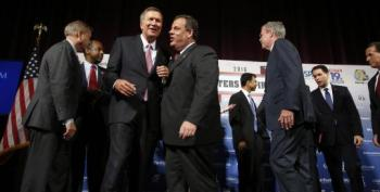 Republican Candidates Meet -- Without Donald Trump