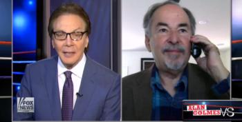 David Horowitz Tells Alan Colmes That Obama Is A 'Jew Hater'