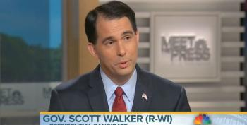 Gov. Scott Walker Can't Explain Why Obama Has A Better Approval Rating In Wisconsin