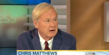 Hartmann: Matthews Attack On Sanders All About Not Wanting Outsider Seriously Running For President