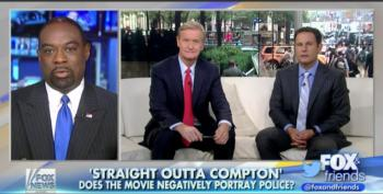 Fox News' Racist Cop Bashes NWA Movie For Being Mean To Cops
