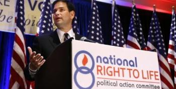 Marco Rubio Doubles Down On Abortion Stance On 'Meet The Press'