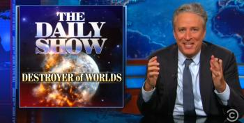 Jon Stewart Laments The Fact That Despite The Headlines, He Didn't Actually 'Eviscerate' Anyone