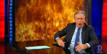 Jon Stewart Rips Howie Kurtz And Fox One Last Time Before Leaving The Air