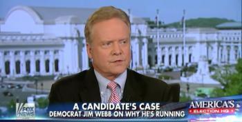 Jim Webb Thinks Opposing Iran Deal Is A Winning Strategy