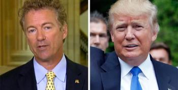Donald Trump Taunts Rand Paul On Twitter, Says He Shouldn't Be Allowed In CNN Debate