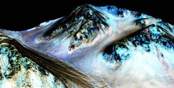 NASA Confirms Presence Of Water On Mars