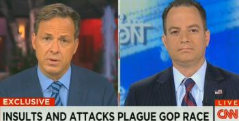 RNC Chair Priebus Tries To Downplay GOP Infighting