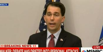 Walker Drops Out In Order To 'Lead'