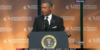 President Obama Blasts Fox News In Speech